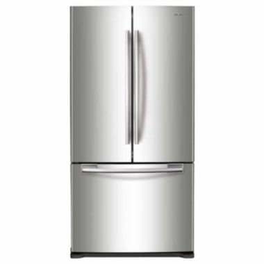 "jcpenney.com | Samsung 33"" Wide 17.5 cu. ft. Counter-Depth French-Door Refrigerator"