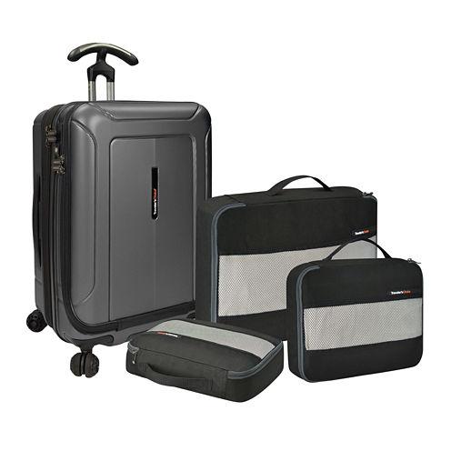 Travelers Choice Barcelona 22 Inch Luggage