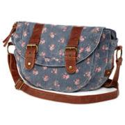 Olsenboye® Floral-Print Messenger Bag