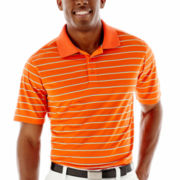 St. Andrews of Scotland Golf Cluster-Striped Polo Shirt