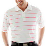 St. Andrews of Scotland Golf Pinstriped Polo Shirt