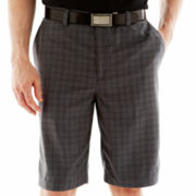 St. Andrews of Scotland Golf Plaid Flat-Front Shorts