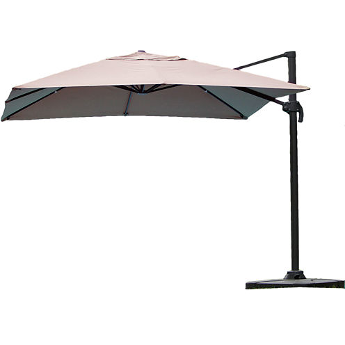 Geneva 9' Cantilever Umbrella with Stand