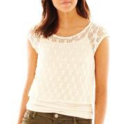 Arizona Crochet-Back Top