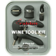 Metrokane 6-pc. Rabbit Wine Tool Kit