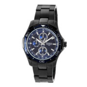 Armitron® All Sport Mens Blue Multifunction Watch