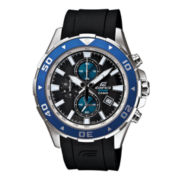 Casio® Edifice Mens Marine Chronograph Watch