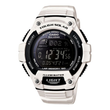 jcpenney.com | Casio® Solar Runner Large Case Watch WS220C-7B