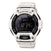 Casio® Solar Runner Large Case Watch