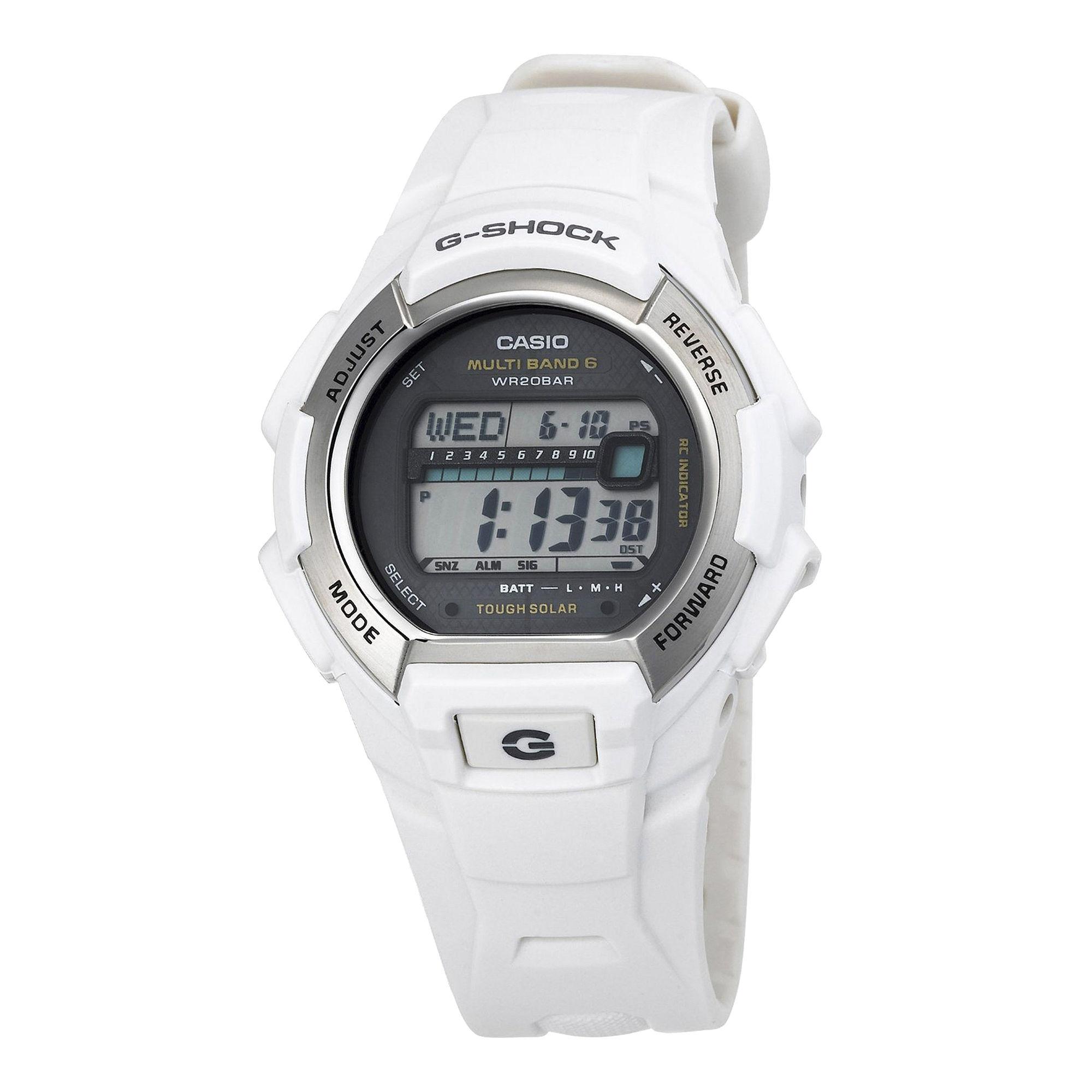 Casio G-Shock Mens Resin Solar Chronograph Watch GW-M850-7CR