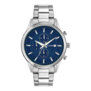 Citizen® Exclusive Mens Silver-Tone Chronograph Watch