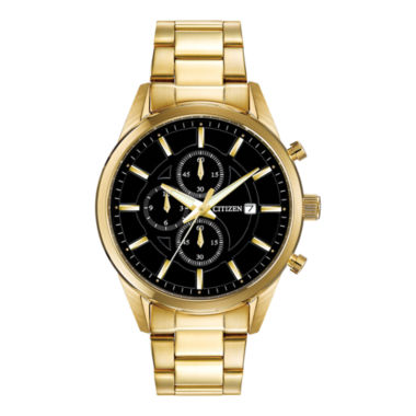 jcpenney.com | Citizen® Exclusive Mens Gold-Tone Chronograph Watch