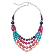Aris by Treska Layered Bib Necklace