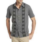 Van Heusen® Short-Sleeve Morocco Woven Shirt