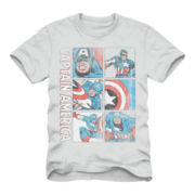 Captain America Graphic Tee