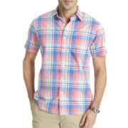Arrow® Short-Sleeve Bright Madras Plaid Shirt