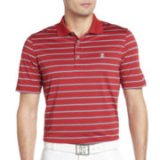IZOD® Golf Feeder-Striped Polo