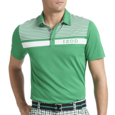 jcpenney.com | IZOD® Golf Piece-Striped Polo