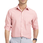 IZOD® Long-Sleeve Fine-Striped Shirt