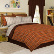 Castle Valley Plaid Complete Bedding Set with Sheets