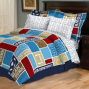 All-Star Reversible Complete Bedding Set with Sheets