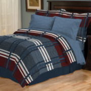Lisbon 6- or 8-pc. Reversible Complete Bedding Set with Sheets
