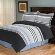 Noah Striped Comforter Set