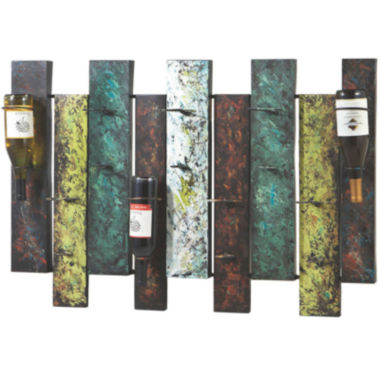 jcpenney.com | Offset Wine Wall Rack