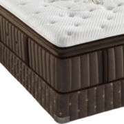 Stearns & Foster® Blythe-Faith Luxury Plush Euro-Top - Mattress + Box Spring