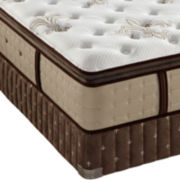 Stearns & Foster® Paige-Faith Luxury Plush Euro-Top Mattress plus Box Spring