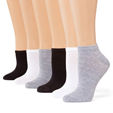 jcpenney.com | Xersion™ 6-pk. Zone Cushioned No-Show Socks