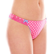 Marie Meli Vanity Lace Thong Panties