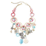 Aris by Treska Sea Life Statement Bib Necklace