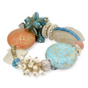 Aris by Treska Sea Life Chunky Stretch Bracelet