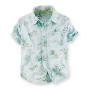 Carter's Beach-Print Shirt – Baby Boys 6m-24m