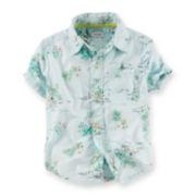 Carter's® Beach-Print Shirt - Baby Boys 6m-24m