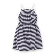 Carter's® Striped Dress – Toddler Girls 2t-5t