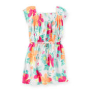 Carter's® Tropical Flower-Print Dress - Toddler Girls 2t-5t