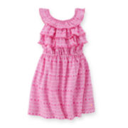 Carter's® Ruffle Geo-Print Dress - Toddler Girls 2t-5t