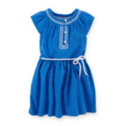 Carter's® Embroidered Dress – Toddler Girls 2t-5t