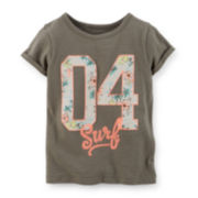 Carter's® Surf Graphic Tee – Toddler Girls 2t-5t