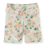Carter's® Tropical-Print Bermuda Shorts – Toddler Girls 2t-5t