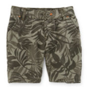 Carter's® Palm Frond-Print Bermuda Shorts - Toddler Girls 2t-5t
