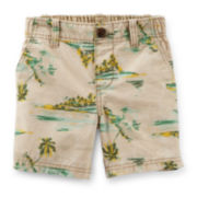 Carter's® Island-Print Shorts – Preschool Boys 4-7