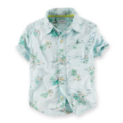 Carter's Beach-Print Shirt – Preschool Boys 4-7