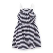 Carter's® Striped Dress - Preschool Girls 4-6x