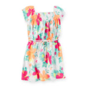 Carter's® Tropical Flower-Print Dress - Preschool Girls 4-6x