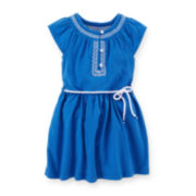 Carter's® Embroidered Dress - Preschool Girls 4-6x