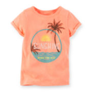 Carter's® Sunset Graphic Tee – Preschool Girls 4-6x