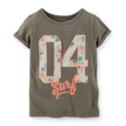 Carter's® Surf Graphic Tee - Preschool Girls 4-6x